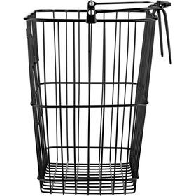 Basil Bottle Rear Wheel Basket, czarny